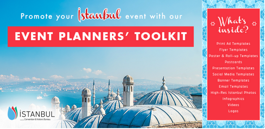 istanbul cvb unveils free marketing collaterals toolkit for event, Presentation templates