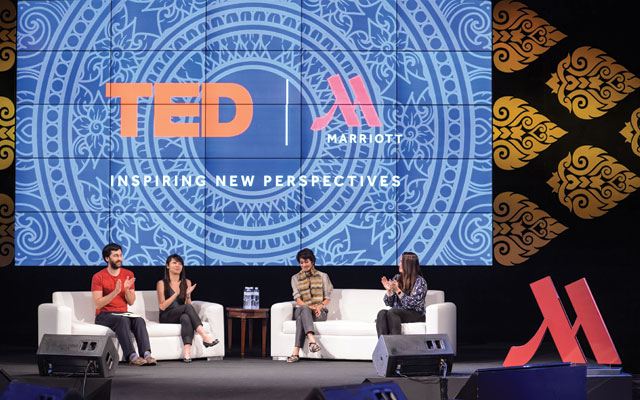 Marriott inspires innovation and courage with curated TED content