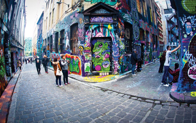 Take an inside look into Melbourne