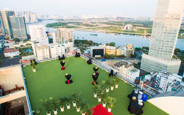 New rooftop events space debuts in heart of HCMC