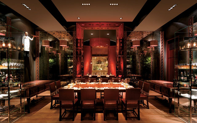 Host corporate events at this award-winning Bangkok restaurant