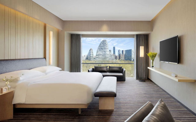 First Hyatt Regency rises in China's capital