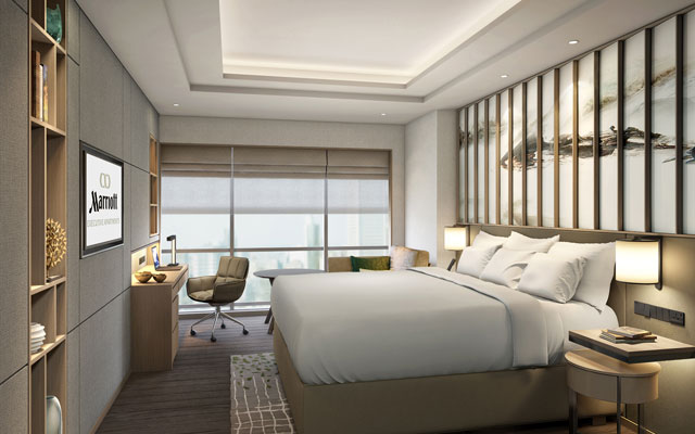 Marriott opens its first serviced apartments in Hangzhou