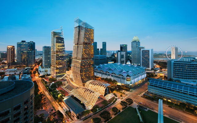 Rediscover Singapore with three Marriott hotels