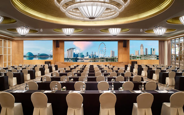 New event technology available at The Ritz-Carlton, Millenia Singapore