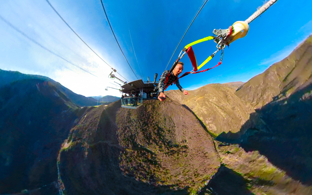 Nevis Catapult: NZ's latest thrill ride launches into action