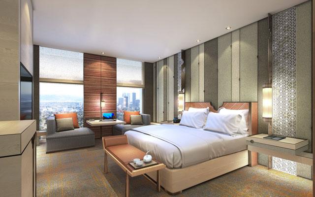 Hyatt Regency rises in a suburban Shanghai district