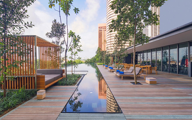 Oakwood offers spaces to meet in Singapore's downtown
