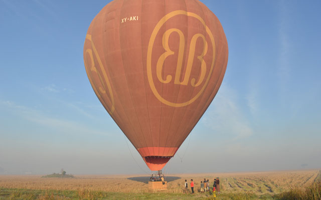 Balloons Over Bagan soars to new state in Myanmar