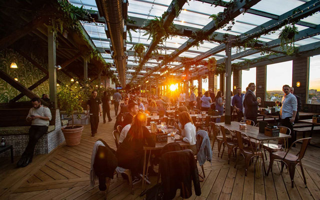Beyond Asia: Pergola Olympia, Airbnb, and Caesars Republic