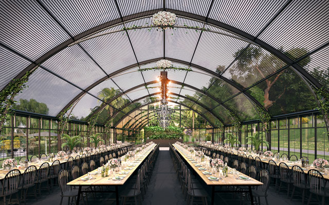 Pop-up venue coming to Melbourne's iconic gardens