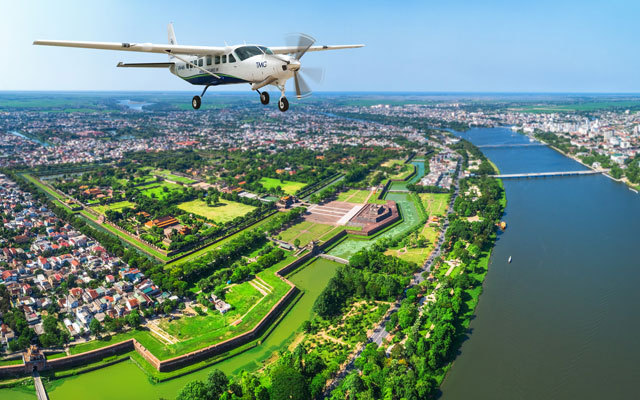 Scenic flights between Danang and Hue now on sale