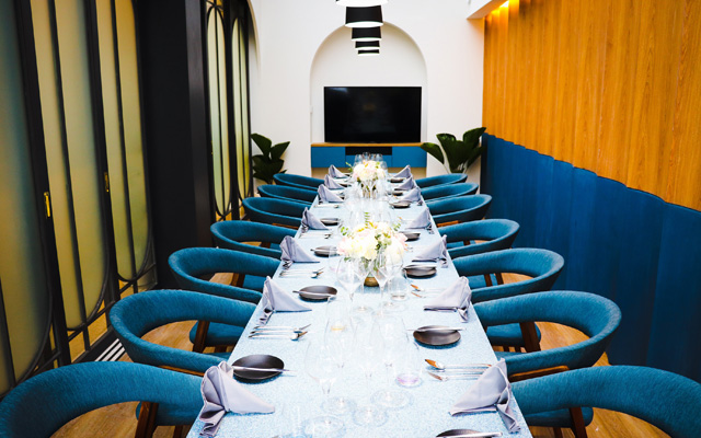 Wine and dine in private at Txoko