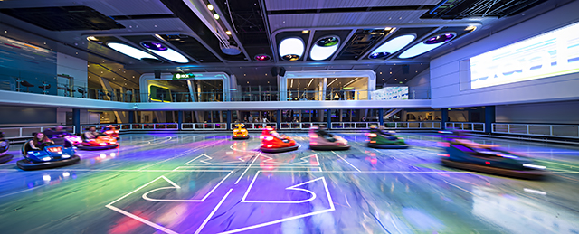 Bumper Cars at SeaPlex