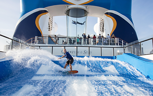 FlowRider surf simulator and Ripcord by iFly skydiving simulator