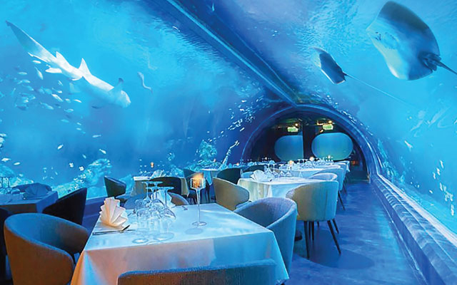 Giant aquarium and underwater restaurant open at Central Phuket mega mall