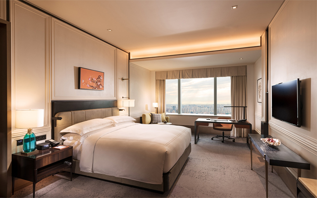 Conrad Shenyang Premium King Bedroom