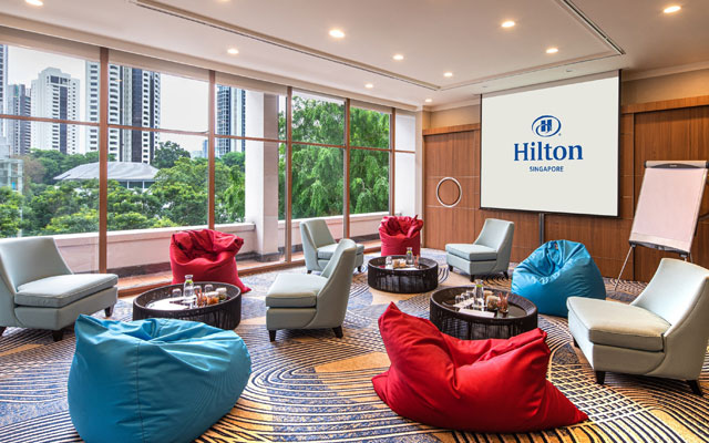 Double perks at Hilton Singapore