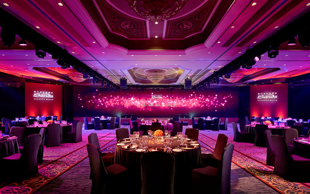 Take events to new heights with Sands Resorts Macao's latest offer
