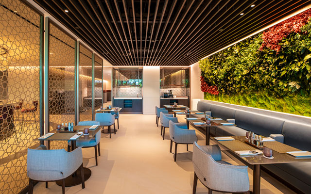 Qatar opens business class lounge at Changi Airport