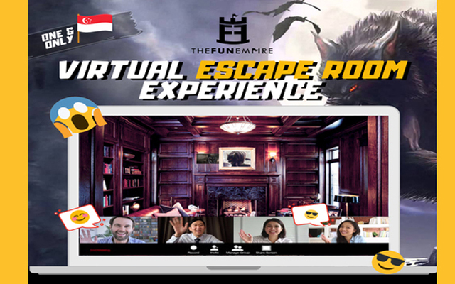 The Fun Empire launches a virtual escape room