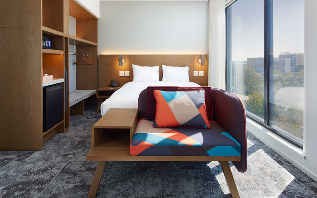 Holiday Inn Express opens its first airport hotel in Australia