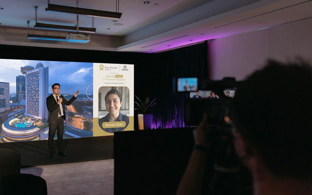Pan Pacific Singapore takes events to next level with hybrid studio