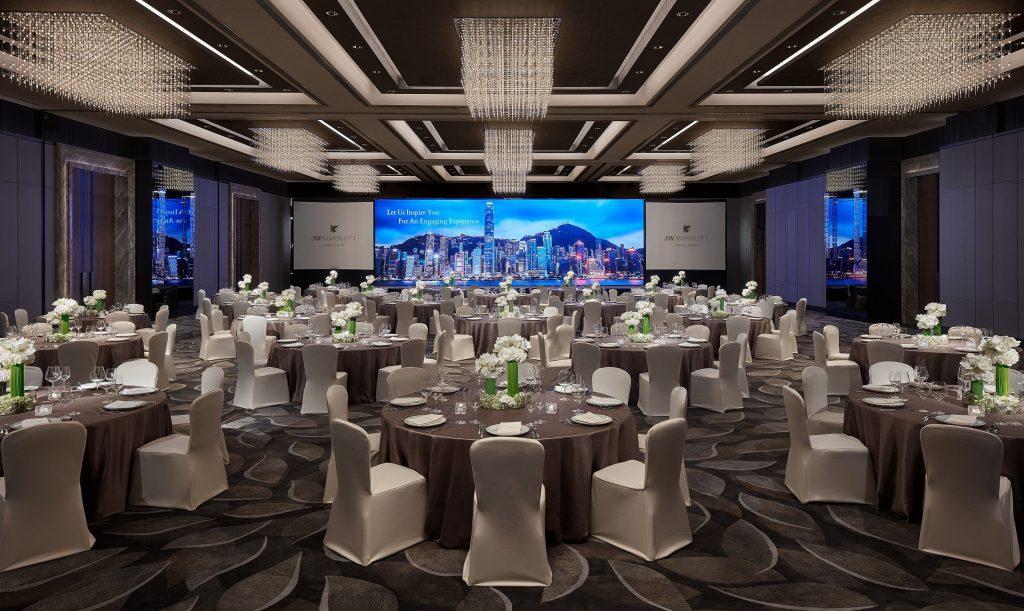JW Marriott Hotel Hong Kong launches hybrid meeting solution