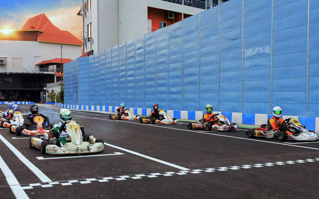 Corporate events welcome at revamped Karting Arena